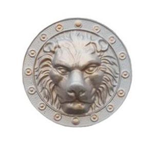 Голова льва (алюминий) металлическая доставка в озерах
