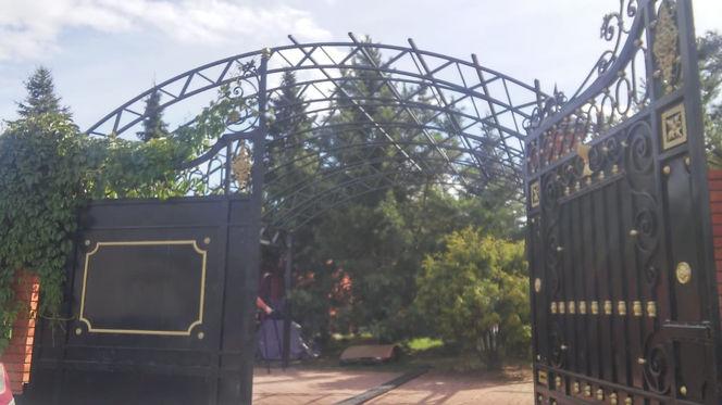 заказать кованые ворота и навес в озерах