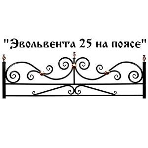 Ограда Эвольвента 25 на поясе